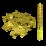 Пневмохлопушка  Золотое конфетти 30см
